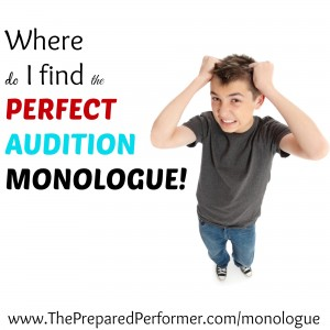 Audition monologue for kids