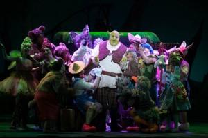 T.J. Dawson as Shrek in 3-D Theatricals Shrek the Musical - Photo credit Isaac James Creative.