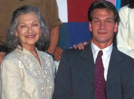 Patsy and Patrick Swayze