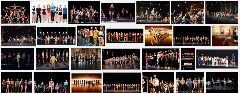 A Chorus Line Audition