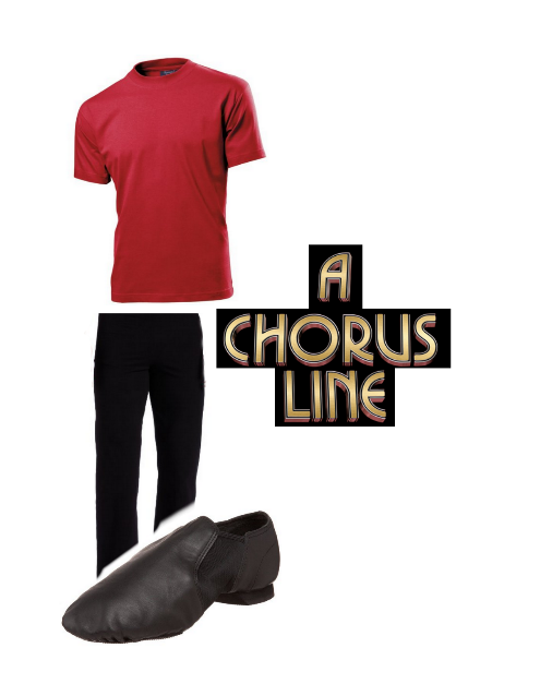 A Chorus Line Men's Audition Outfit