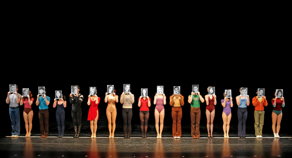 A Chorus Line Opening