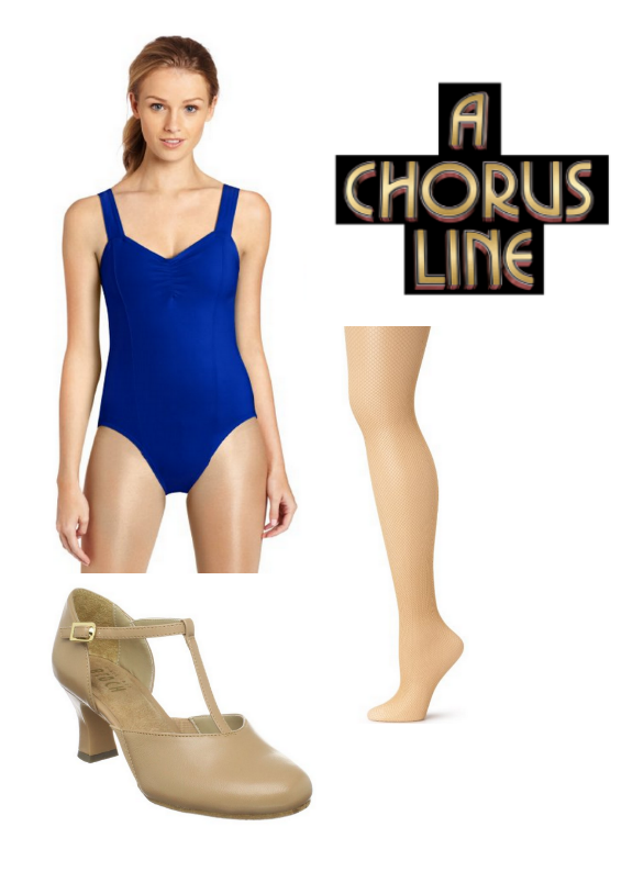 A Chorus Line Women's Audition Outfit