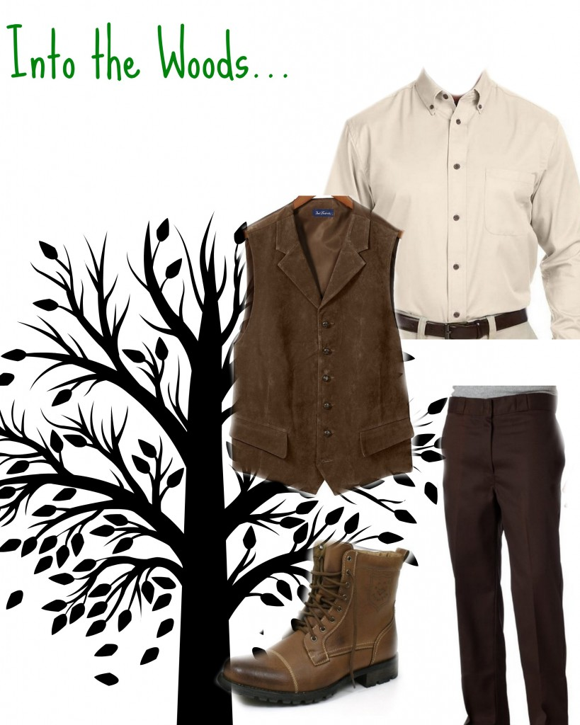 Men - What to wear to an Into the Woods Audition