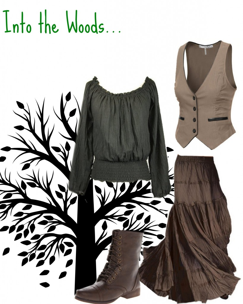 What to wear to an into the woods audition