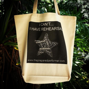 I can't I have Rehearsal Tote