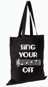 Sing Your Face off Tote Bag