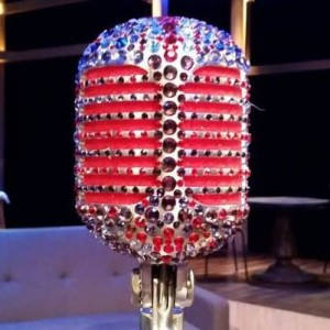 lady gaga microphone