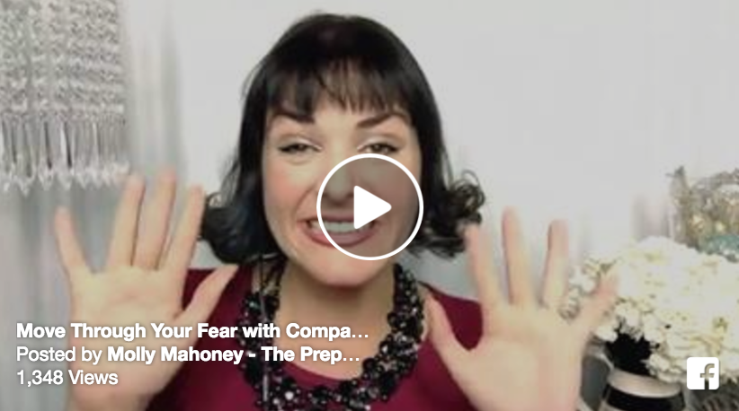 MOVING THROUGH FEAR WITH COMPASSION #FEARLESSFRIDAY