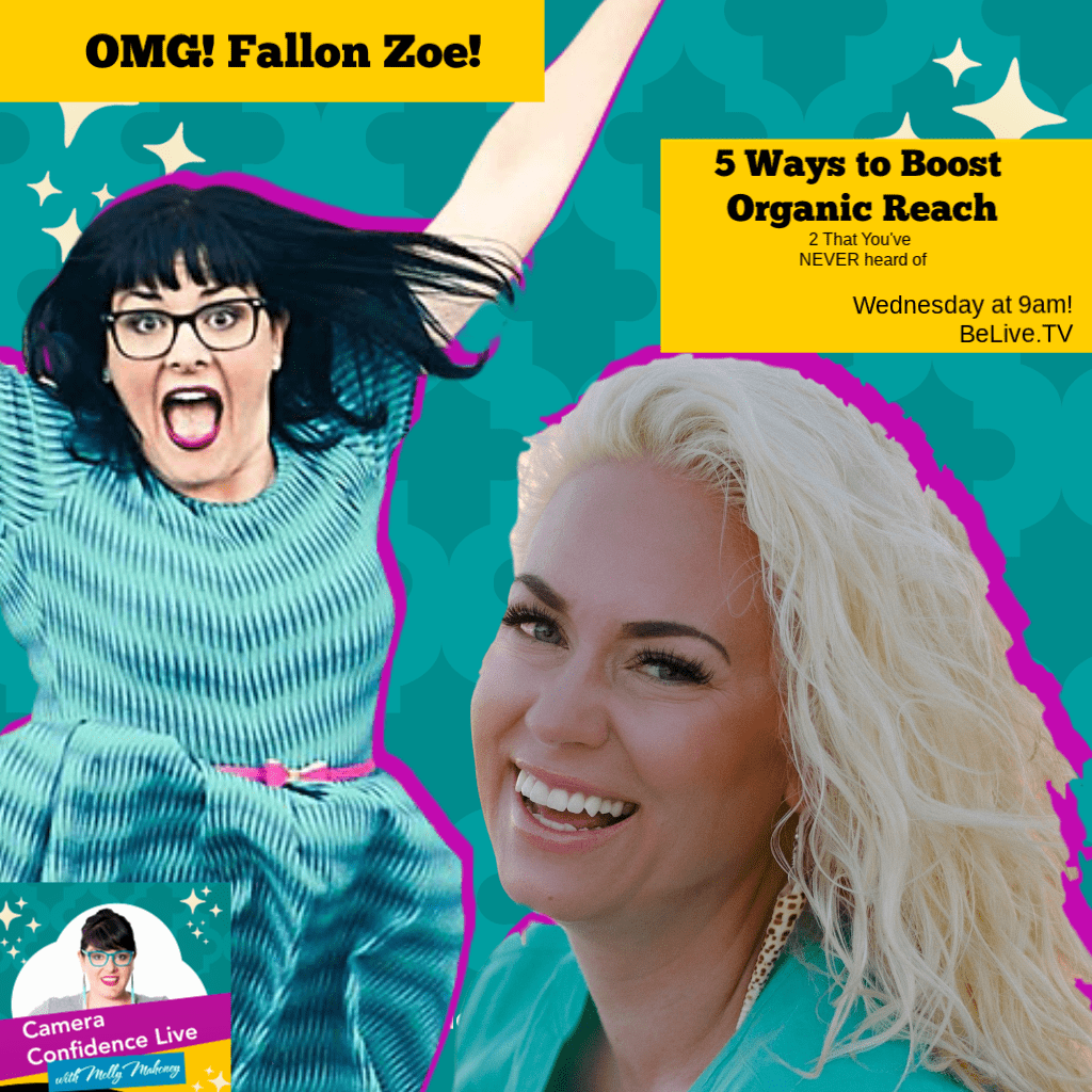 How to Boost Your Organic Reach On Facebook with Fallon Zoe