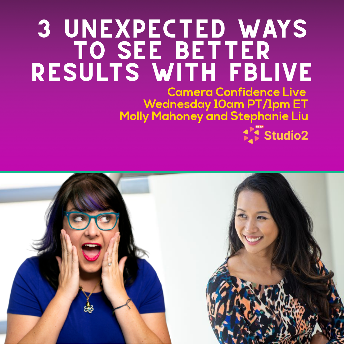 3 Unexpected Secrets That Will Improve Your Live Video Results with Stephanie Liu!!