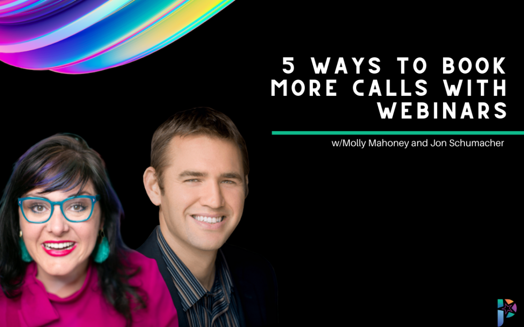 5 Ways to Book More Calls with Webinars