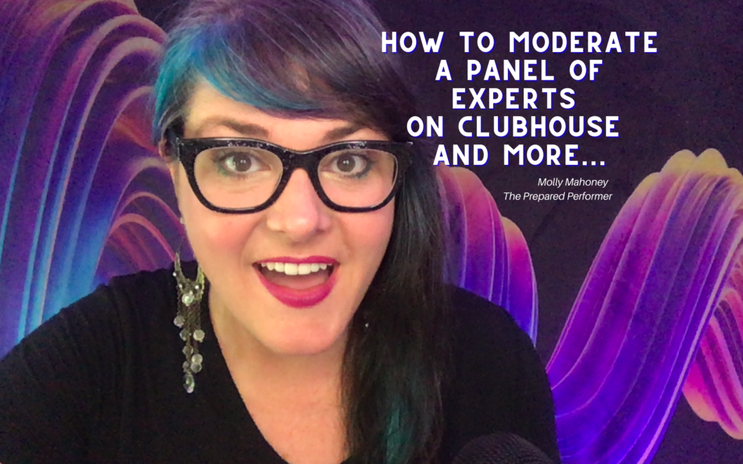 How to Moderate a Panel of Experts on the Clubhouse App