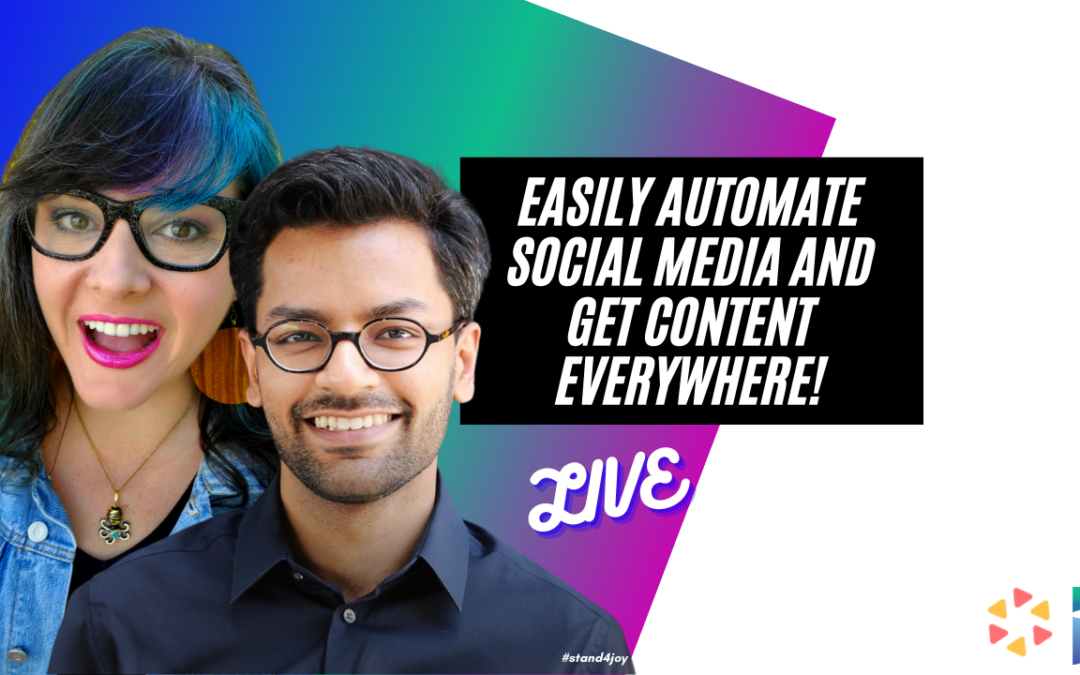 Easily Automate Social Media and Get Content Everywhere!